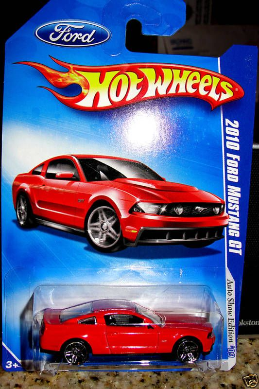 2010 FORD MUSTANG GT HOT WHEELS AUTO SHOW EDITION