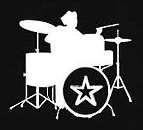 CLASSIC DRUMS T SHIRT RETRO MUSIC ROCK TEE PUNK Size S M L XL